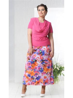 Блузка Lina. Цвет: розовый