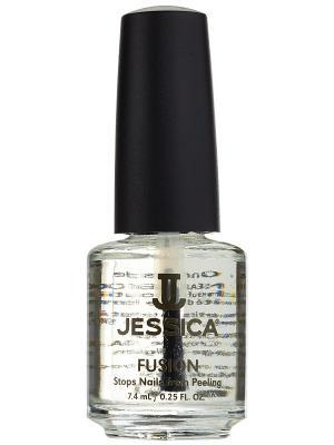 Средство для слоящихся ногтей Fusion, 7,4 мл JESSICA. Цвет: прозрачный