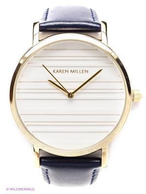 Часы KAREN MILLEN. Цвет: золотистый