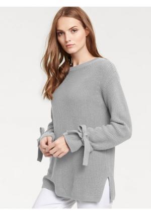 Пуловер B.C. BEST CONNECTIONS by Heine. Цвет: красный, серо-коричневый, серый меланжевый, темно-синий