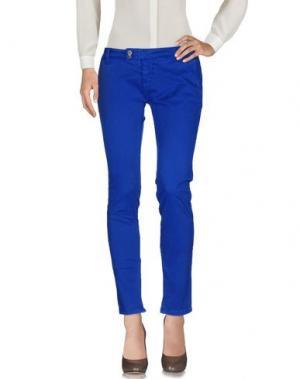 Повседневные брюки SHOCKLY. Цвет: ярко-синий