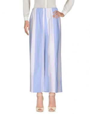 Повседневные брюки COLLECTION PRIVĒE?. Цвет: небесно-голубой