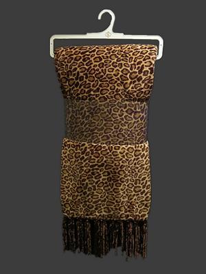 Кисточки №8 Плед 150х200 Sofi de Marko. Цвет: коричневый