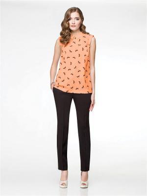 Блузка Panda. Цвет: персиковый