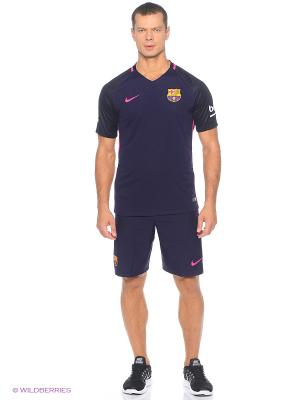 Футболка FCB M SS AW STADIUM JSY Nike. Цвет: фиолетовый