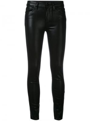 Укороченные джинсы Hoxton Paige. Цвет: чёрный
