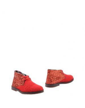 Полусапоги и высокие ботинки SGN GIANCARLO PAOLI. Цвет: красный