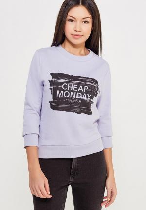 Свитшот Cheap Monday. Цвет: фиолетовый