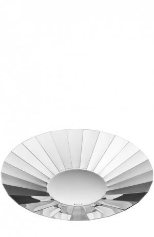 Чаша для центра стола Facette D`Argent Christofle. Цвет: бесцветный