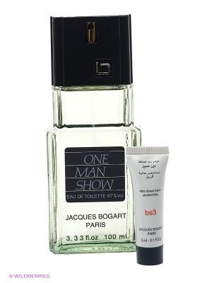 Туалетная вода Jacques Bogart One Man Show 100 мл + бальзам п.бритья 3 мл,. Цвет: светло-зеленый