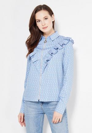 Блуза SK House. Цвет: голубой