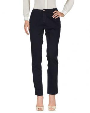 Повседневные брюки DEVERNOIS. Цвет: темно-синий