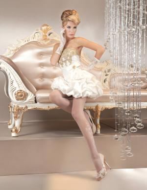 Колготки - Белый Ballerina