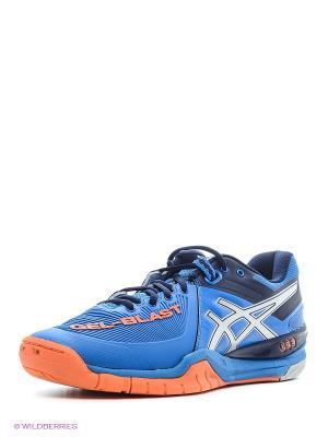 Кроссовки GEL-BLAST 6 ASICS. Цвет: синий, оранжевый