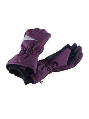 Перчатки Lassie by Reima. Цвет: темно-фиолетовый