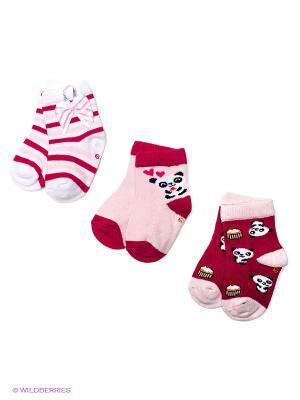 Носки PERA MAYA. Цвет: малиновый, бледно-розовый, красный