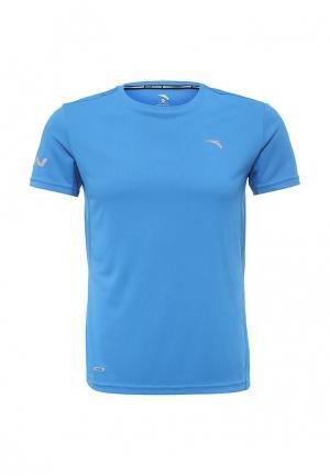 Футболка спортивная Anta. Цвет: голубой