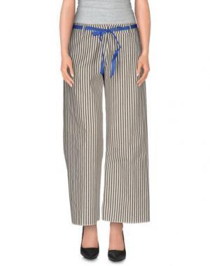 Повседневные брюки PEACOCK BLUE. Цвет: черный