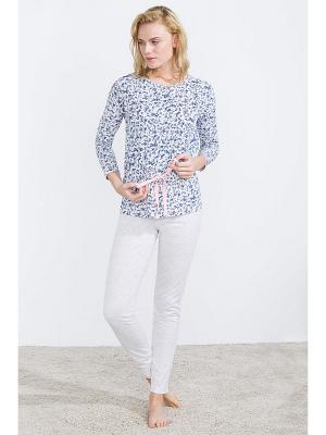 Пижама Women' Secret. Цвет: синий, серый