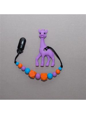 Игрушка-подвеска Краски лета. Цвет: фиолетовый, голубой, оранжевый