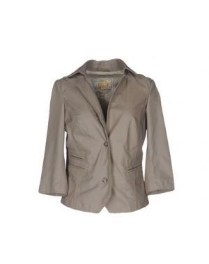 Пиджак VINTAGE DE LUXE. Цвет: серый