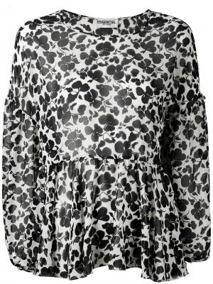 Блузка Naynay Essentiel Antwerp. Цвет: белый