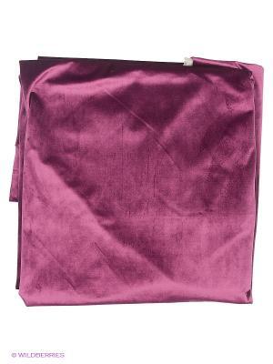 Комплект портьер бархат  лиловый 130х270 см. на подкладке, 2 шт. T&I. Цвет: лиловый