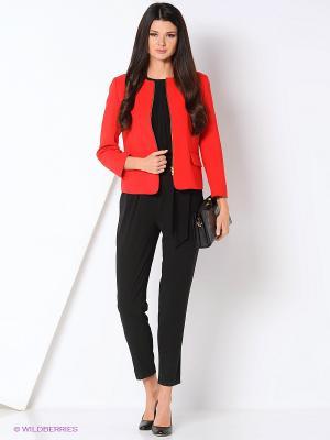 Пиджак TUZUN. Цвет: красный