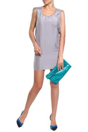 Платье Costume National. Цвет: серый