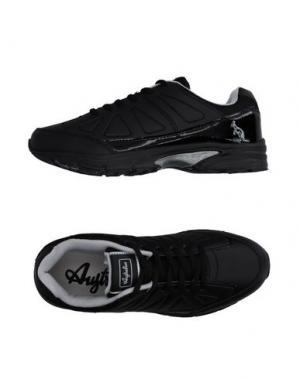 Низкие кеды и кроссовки AUSTRALIAN. Цвет: черный