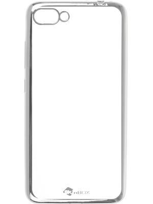 Накладка для Asus Zenfone 4 Max (ZC554KL) skinBOX. Цвет: серебристый