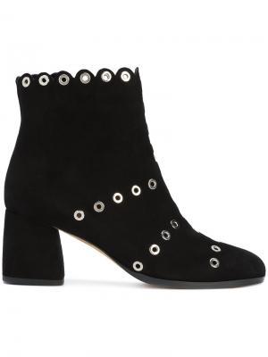 Ботинки с заклепками Alexa Wagner. Цвет: чёрный