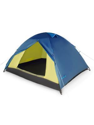 Палатка 2-х местная  A2 Larsen. Цвет: синий, голубой