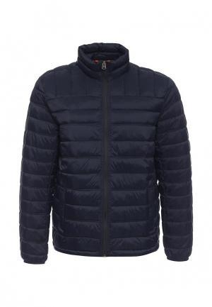 Куртка утепленная Dockers. Цвет: синий