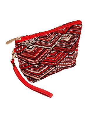 Косметичка Kameo-bis. Цвет: красный, черный, бежевый