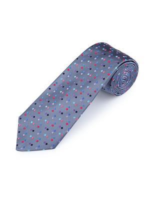 Галстук Infinity Spot Sea Duchamp. Цвет: черный, коралловый, красный, светло-голубой, серо-голубой, сиреневый