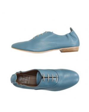 Обувь на шнурках LILIMILL. Цвет: пастельно-синий