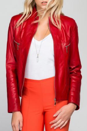 Куртка Deda. Цвет: красный