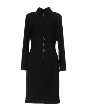 Платье до колена SEN. Цвет: черный