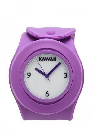 Часы Kawaii Factory. Цвет: фиолетовый