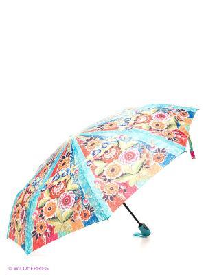 Зонт RAINDROPS. Цвет: голубой, красный, оранжевый