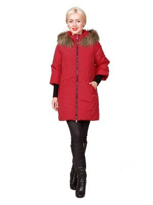 Пальто ROSSO-STYLE. Цвет: красный