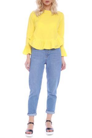 Blouse Emma Monti. Цвет: yellow