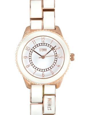Часы STORM ZARINA ROSE GOLD 47095/RG Storm.. Цвет: золотистый, белый