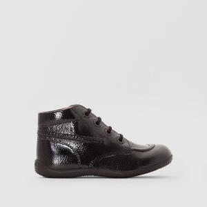 Ботинки BILLISTA KICKERS. Цвет: бордовый,черный лак