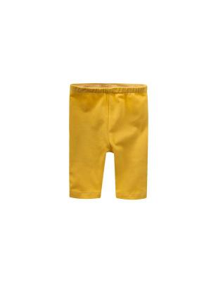 Леггинсы Endo. Цвет: желтый