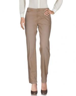 Повседневные брюки WOOLRICH. Цвет: песочный