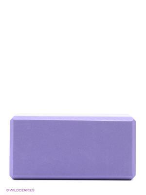 Кирпич для йоги из EVA-пены Yoga brick (фиолетовый) Ako-Yoga. Цвет: фиолетовый