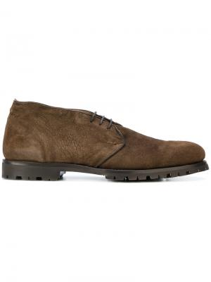 Ботинки дезерты Andrea Ventura. Цвет: коричневый