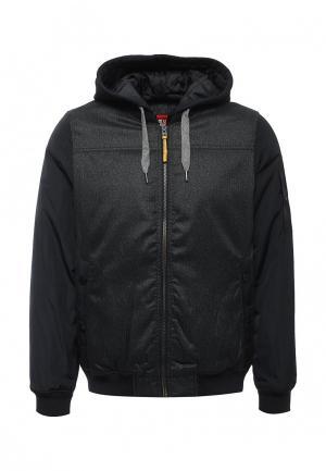 Куртка утепленная s.Oliver. Цвет: черный